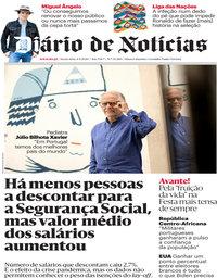 capa Diário de Notícias de 4 setembro 2020
