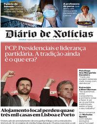 capa Diário de Notícias de 21 setembro 2020