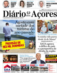 capa Diário dos Açores
