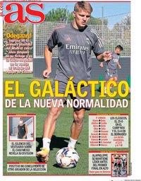 capa Jornal As de 1 setembro 2020