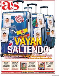 capa Jornal As de 2 setembro 2020