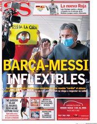capa Jornal As de 3 setembro 2020