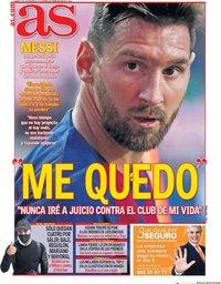 capa Jornal As de 5 setembro 2020