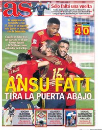 capa Jornal As de 7 setembro 2020