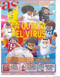 capa Jornal As de 12 setembro 2020