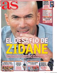 capa Jornal As de 13 setembro 2020