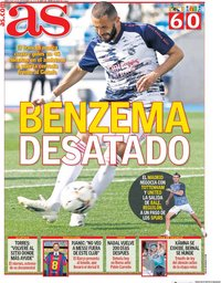 capa Jornal As de 16 setembro 2020