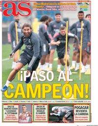 capa Jornal As de 20 setembro 2020