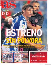 capa Jornal As de 21 setembro 2020