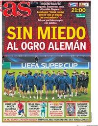 capa Jornal As de 24 setembro 2020