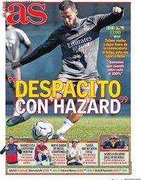 capa Jornal As de 26 setembro 2020