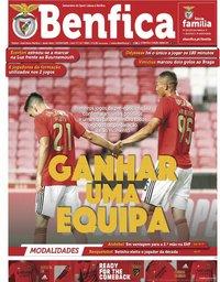 capa Jornal Benfica de 4 setembro 2020