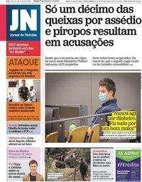 capa Jornal de Notícias de 5 setembro 2020