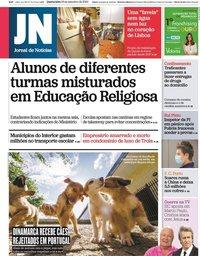 capa Jornal de Notícias de 23 setembro 2020