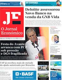 capa Jornal Económico de 4 setembro 2020