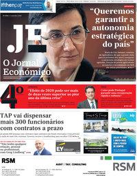 capa Jornal Económico de 11 setembro 2020