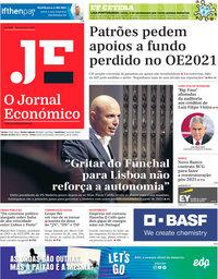 capa Jornal Económico de 18 setembro 2020