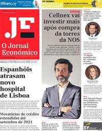 capa Jornal Económico de 25 setembro 2020