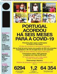 capa Jornal i de 2 setembro 2020