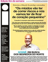 capa Jornal i de 4 setembro 2020