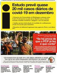 capa Jornal i de 7 setembro 2020