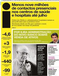capa Jornal i de 9 setembro 2020