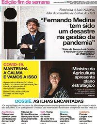 capa Jornal i de 11 setembro 2020