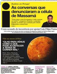 capa Jornal i de 15 setembro 2020