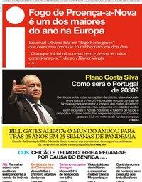 capa Jornal i de 16 setembro 2020