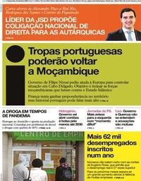 capa Jornal i de 23 setembro 2020