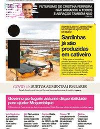 capa Jornal i de 24 setembro 2020