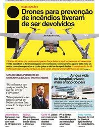capa Jornal i de 28 setembro 2020