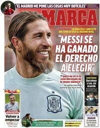 capa Jornal Marca de 3 setembro 2020