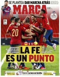 capa Jornal Marca de 4 setembro 2020