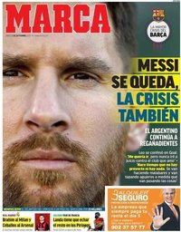 capa Jornal Marca de 5 setembro 2020