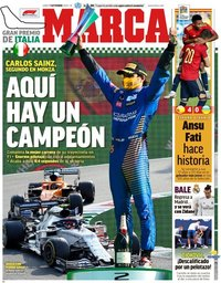 capa Jornal Marca de 7 setembro 2020