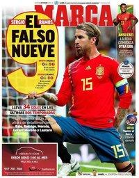 capa Jornal Marca de 8 setembro 2020