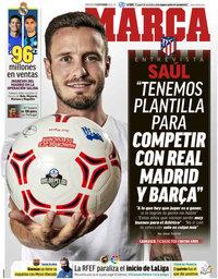 capa Jornal Marca de 9 setembro 2020