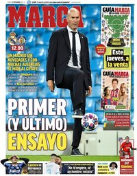 capa Jornal Marca de 15 setembro 2020