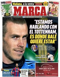 capa Jornal Marca de 16 setembro 2020