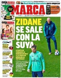 capa Jornal Marca de 17 setembro 2020