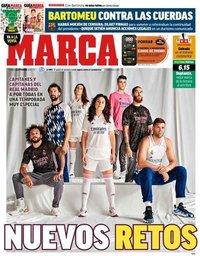 capa Jornal Marca de 18 setembro 2020