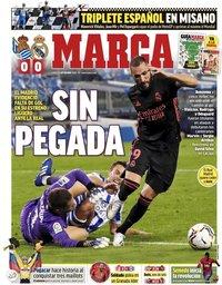 capa Jornal Marca de 21 setembro 2020