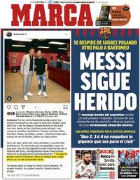 capa Jornal Marca de 26 setembro 2020