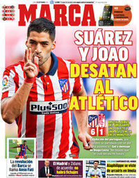 capa Jornal Marca de 28 setembro 2020