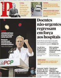 capa Público de 7 setembro 2020