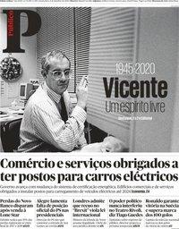 capa Público de 9 setembro 2020