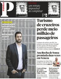 capa Público de 13 setembro 2020