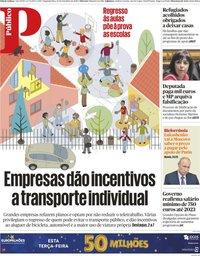 capa Público de 14 setembro 2020