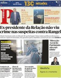 capa Público de 22 setembro 2020